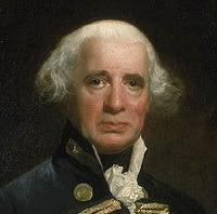 Admiral Richard Howe, 1st Earl Howe