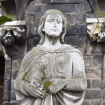 Angela Burdett-Coutts statue