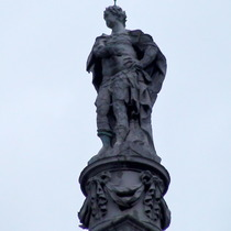 King George I statue, WC1