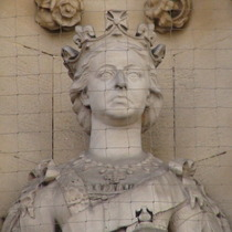 Queen Victoria at Guildhall
