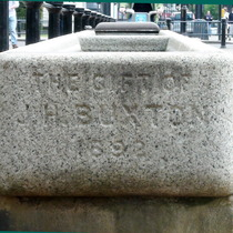 Buxton water trough - Hyde Park