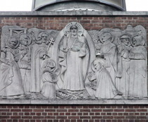Tyburn Convent - relief
