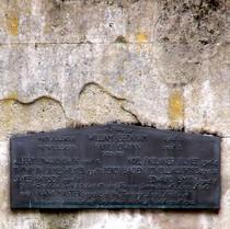 Walworth Boy Scouts Tragedy - original plaque