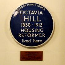 Octavia Hill - moved