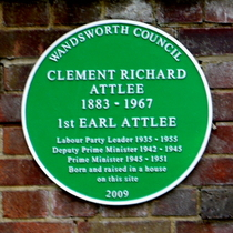 Clement Attlee - Wandsworth