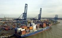 Port of Tilbury, London