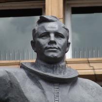 Yury Gagarin statue