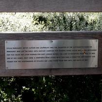 Sylvia Pankhurst - Charteris Road