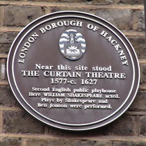 Curtain Theatre - Hewett Street