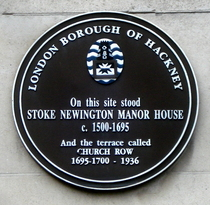 Stoke Newington Manor House