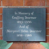 Geoffrey Dearmer and Margaret