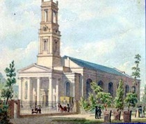St Mary's church, Greenwich