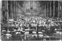 German prisoners of war at Alexandra Palace - WW1