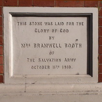 Hackney Salvation Army - 2 - Mrs Bramwell Booth