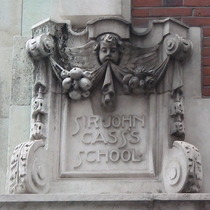 Sir John Cass Foundation, Aldgate - west corner