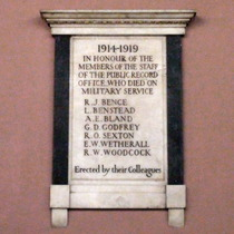 PRO WW1 memorial