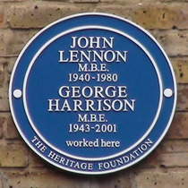 Lennon and Harrison - Baker Street