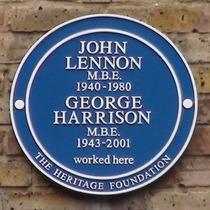 Lennon and Harrison - Baker Street