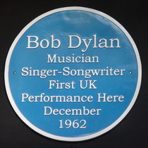 Dylan's first UK venue
