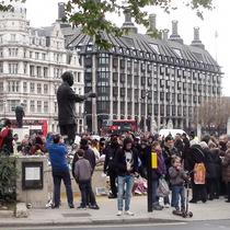 Nelson Mandela - statue