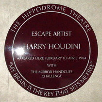 Hippodrome - Harry Houdini