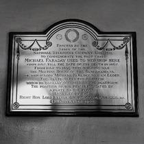 Michael Faraday - N7 - plaque