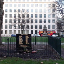 Moorgate tube disaster - Finsbury Square