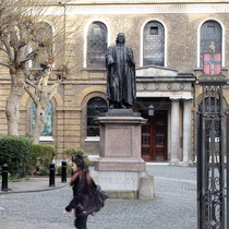 John Wesley statue - City Road
