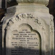 Susanna Wesley monument