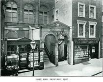 Essex Street Chapel and Essex Hall