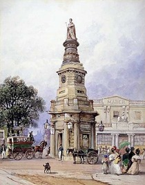 King's Cross statue of George IV