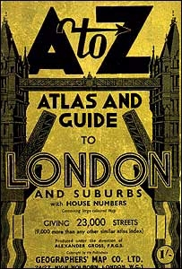 London A - Z