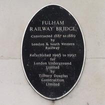 Fulham Railway Bridge