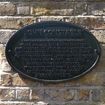 John Constable - Mansion Gardens
