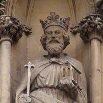 Sanctuary - king on right - Henry III
