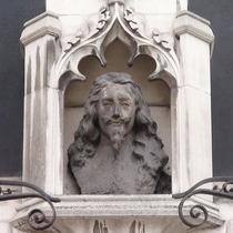 Charles I bust at St Margarets