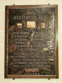 Middlesex Guildhall war memorial