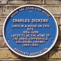 Charles Dickens - Cranleigh Street