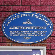 Hitchcock plaque