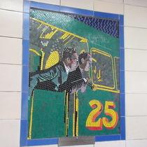 Hitchcock mosaics 05 - Number 17, 1932