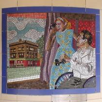 Hitchcock mosaics 08 - Rear Window, 1954