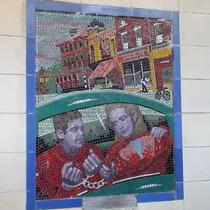 Hitchcock mosaics 10 - Saboteur, 1942