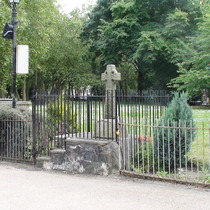 St Dunstans WW1 cross