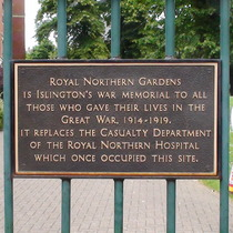 Royal Northern Gardens gates
