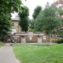 Royal Northern Hospital memorial wall