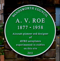 Alliott Verdon Roe - SW18