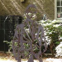 Alan Turing steel statue
