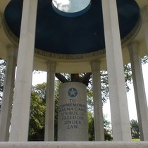 Magna Carta monument - Runnymede