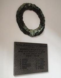 Horatio Myer's war memorial