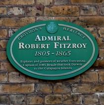 Admiral Robert Fitzroy - SE19